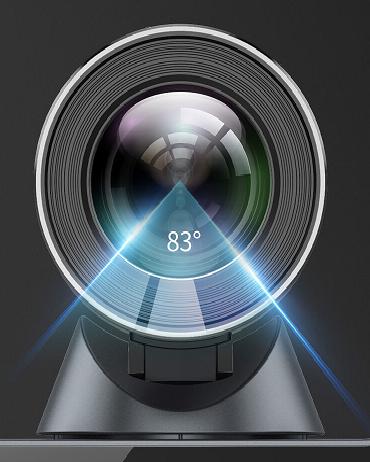 Camera của Yealink VC500 với góc nhìn 83 độ