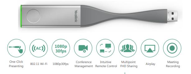 Yealink WPP20 - USB trình chiếu không dây kiểu mới
